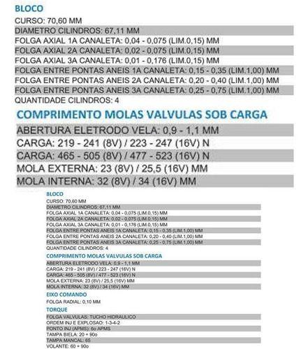 Junta Cabecote Gol at 8/16V Todos