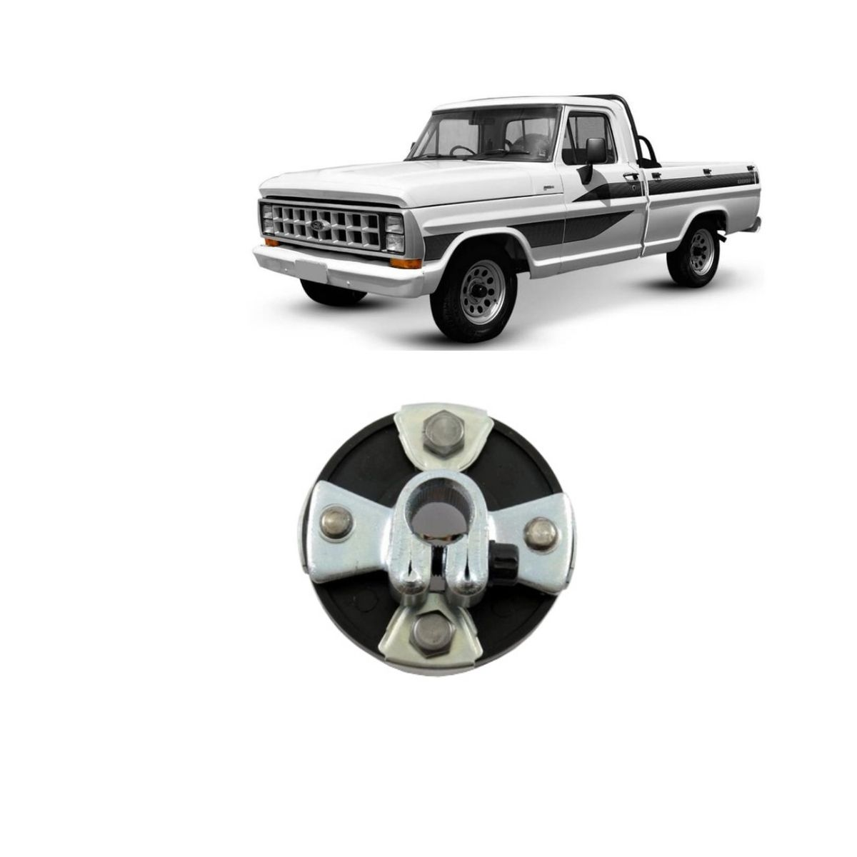 Acoplamento De Direção Ford F1000/2000 F19000/21000 68/92