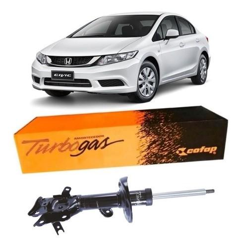 Amortecedor Dianteiro Esquerdo Honda Civic 1.8 2012/...