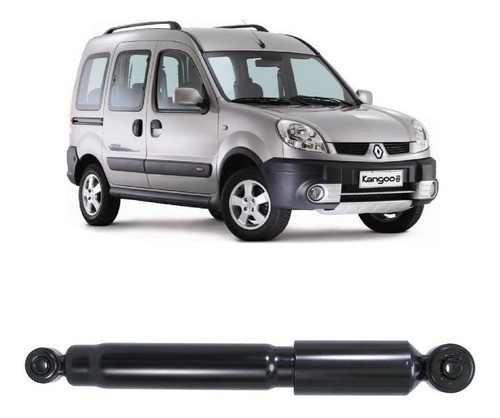 Amortecedor Traseiro Renault Kangoo 1999/2012