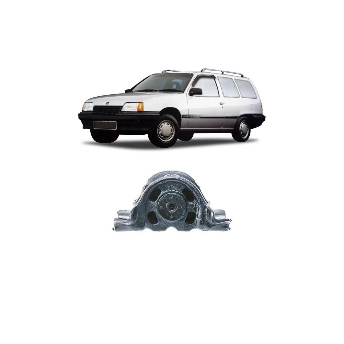 Bucha Bandeja Dianteira Chevrolet Ipanema 1989/1998