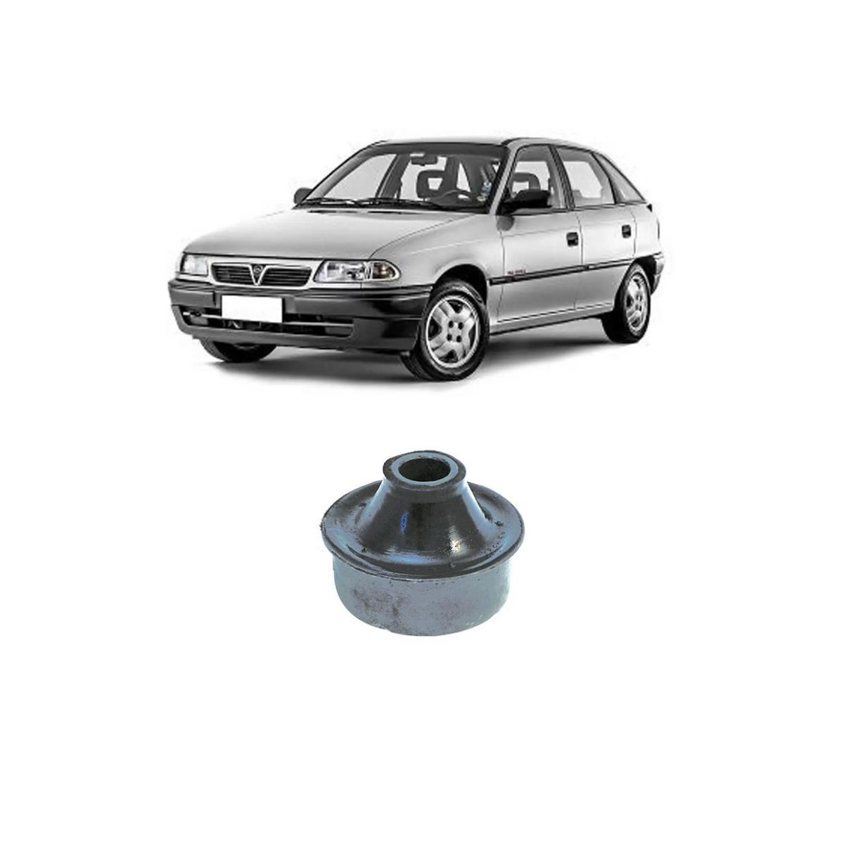 Bucha Bandeja Traseira Chevrolet Astra 1995/1996