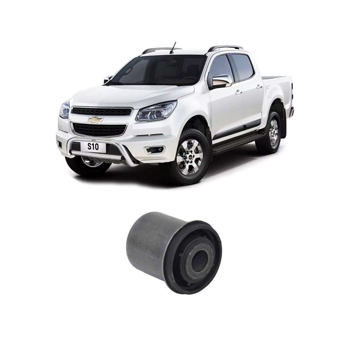 Bucha Da Bandeja Dianteira Inferior Chevrolet S10 2013/