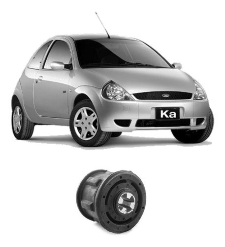 Bucha Eixo Traseiro Ford Ka 1997 Até 2007