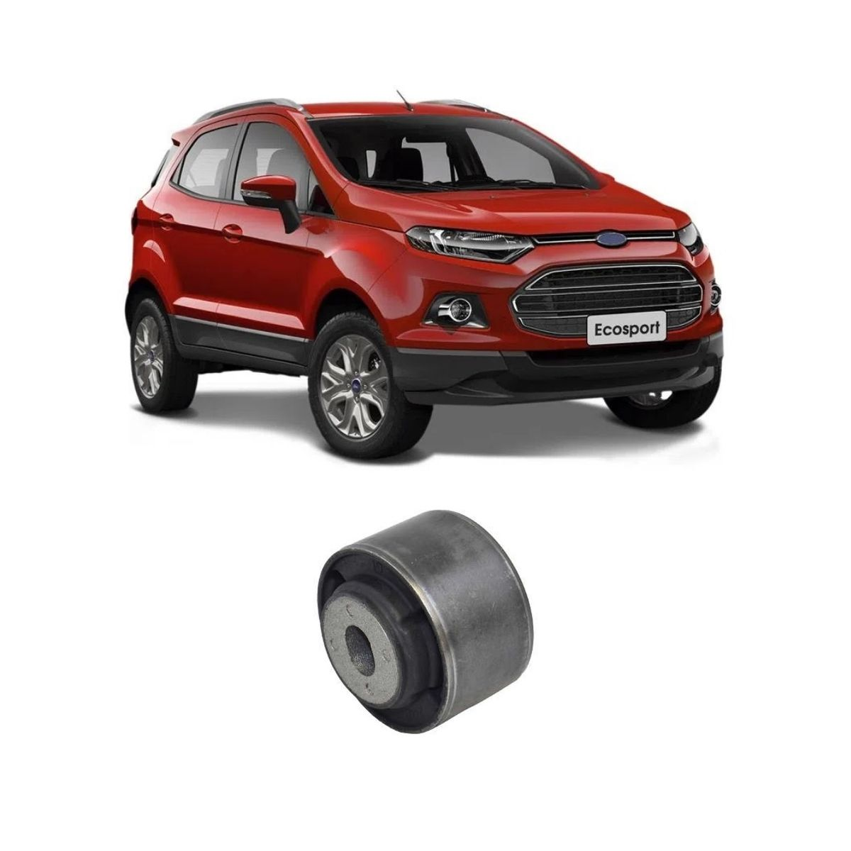 Bucha Maior Bandeja Suspensão Dianteira Ford Ecosport 2012/