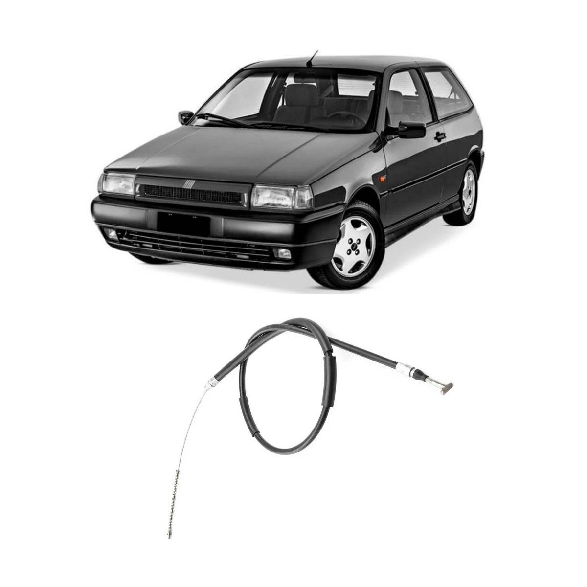 Cabo De Freio Traseiro Esquerdo Fiat Tipo 1993/1997 1417mm