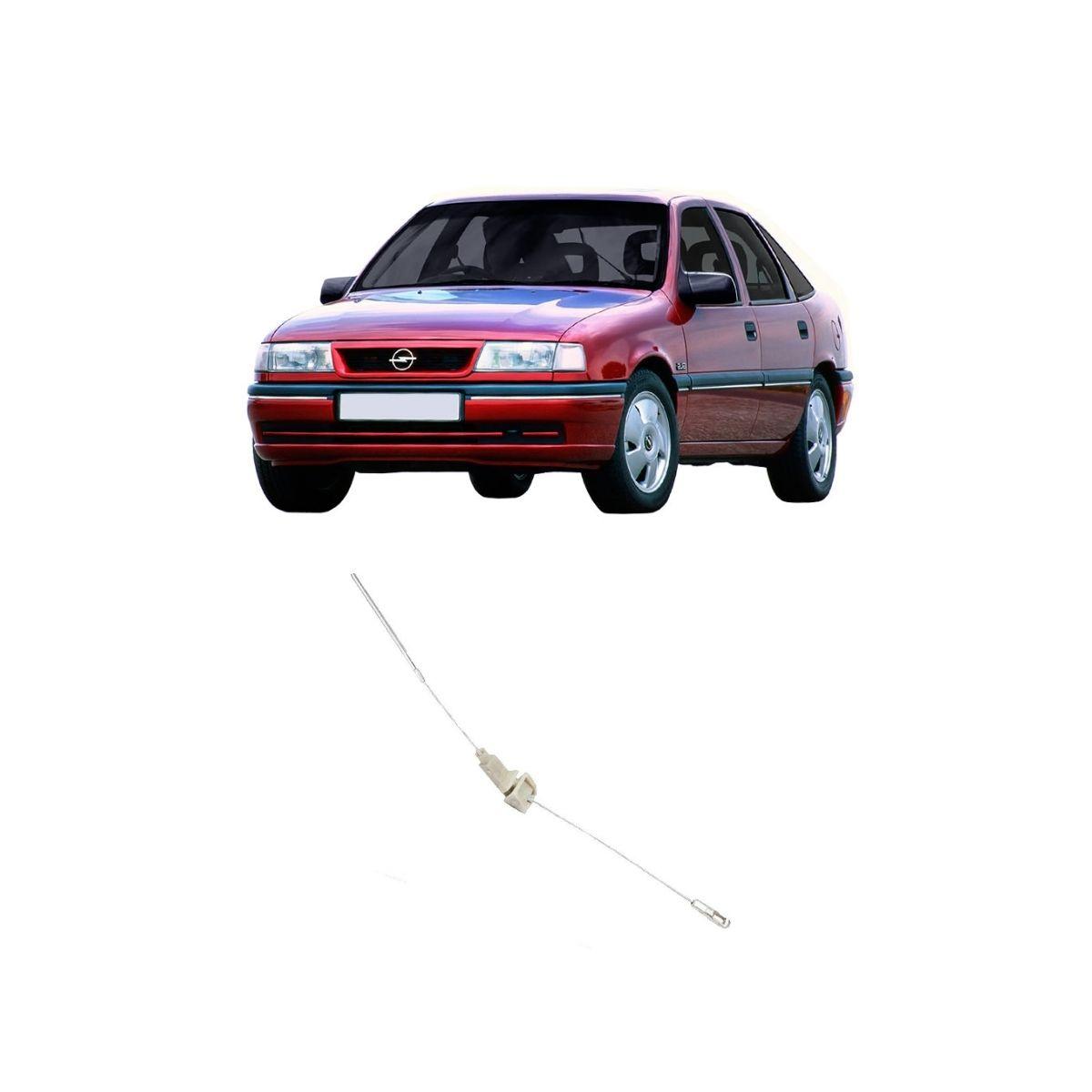 Cabo Freio Traseiro Esquerdo Chevrolet Vectra 93/96 635mm