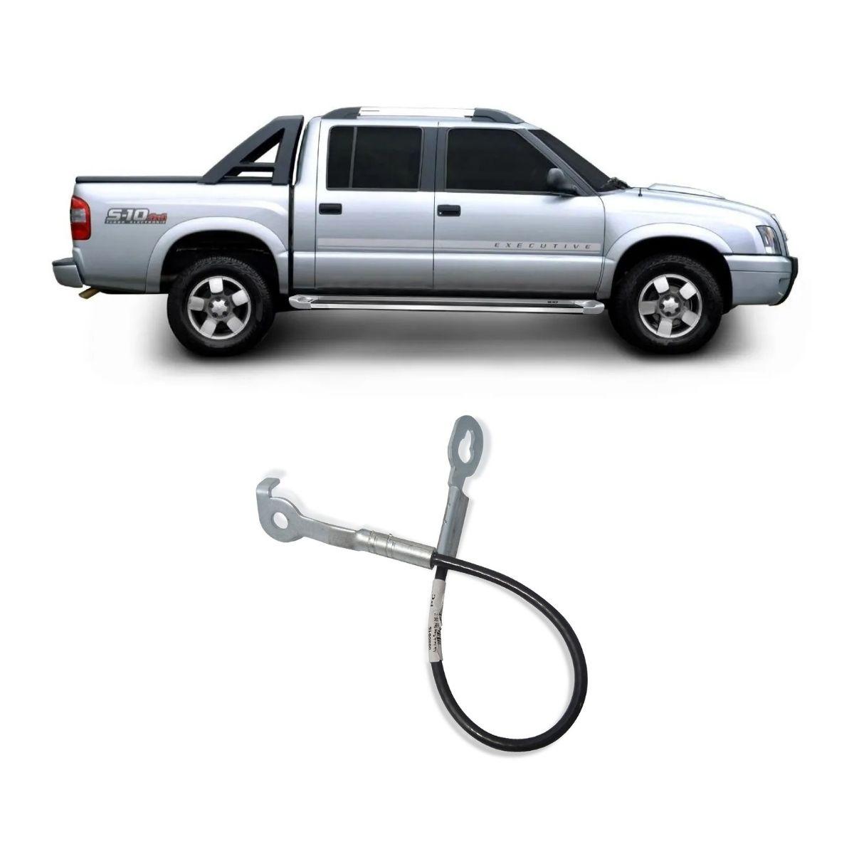 Cabo Tampa Traseira Direito Chevrolet S10 Até 2000 438mm