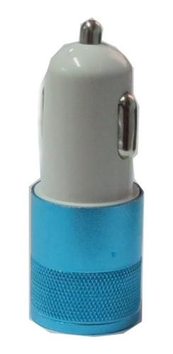 Carregador Veicular Duas Portas Sportinox Azul 2.1a