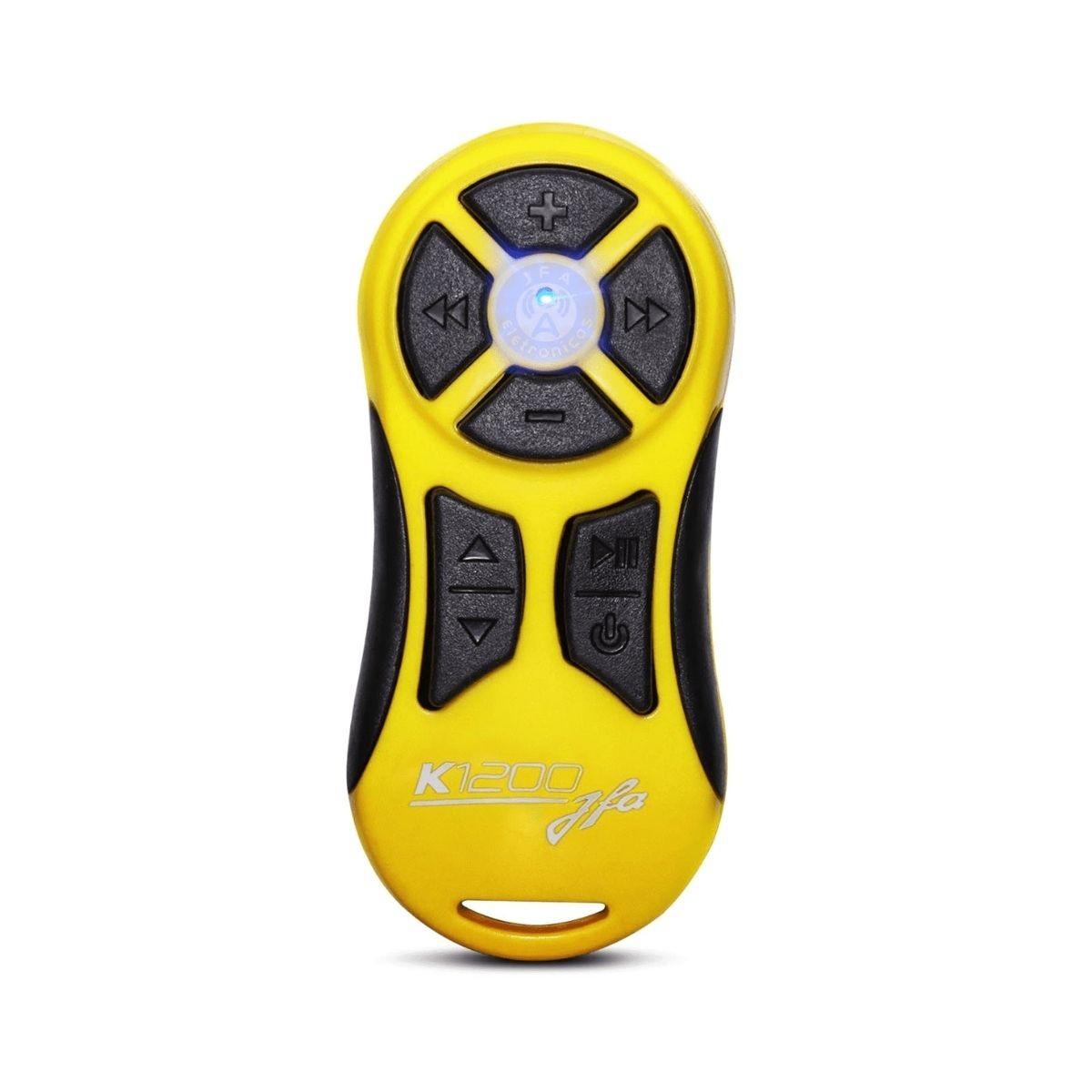 Controle Longa Distância JFA K1200 Completo Amarelo