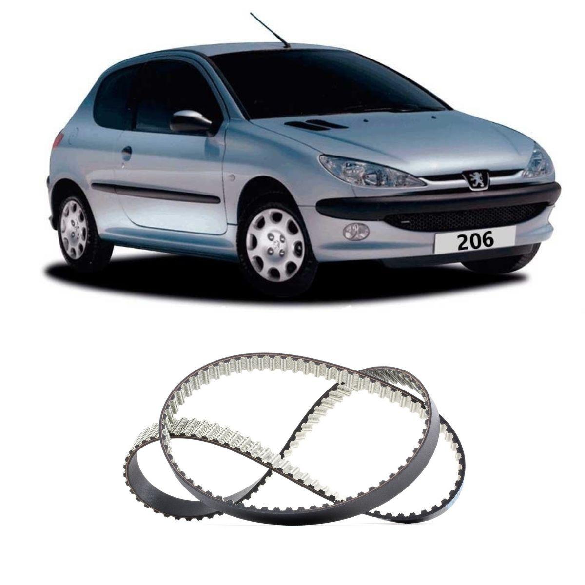 Correia Dentada Peugeot 206 1.6 8v 1999 Em Diante
