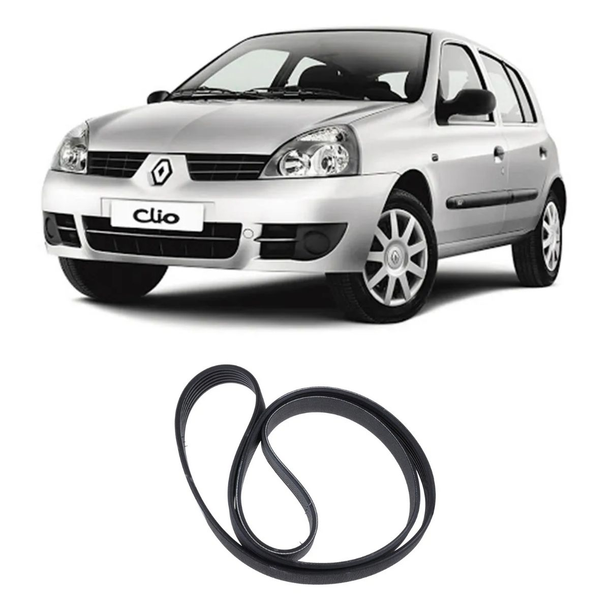 Correia Multi V Clio 1.0 16v 2000/2012 Logan 2007/