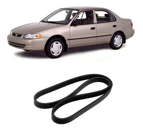 Correia Poly V Corolla 1.6/1.8 16v 1992/2002