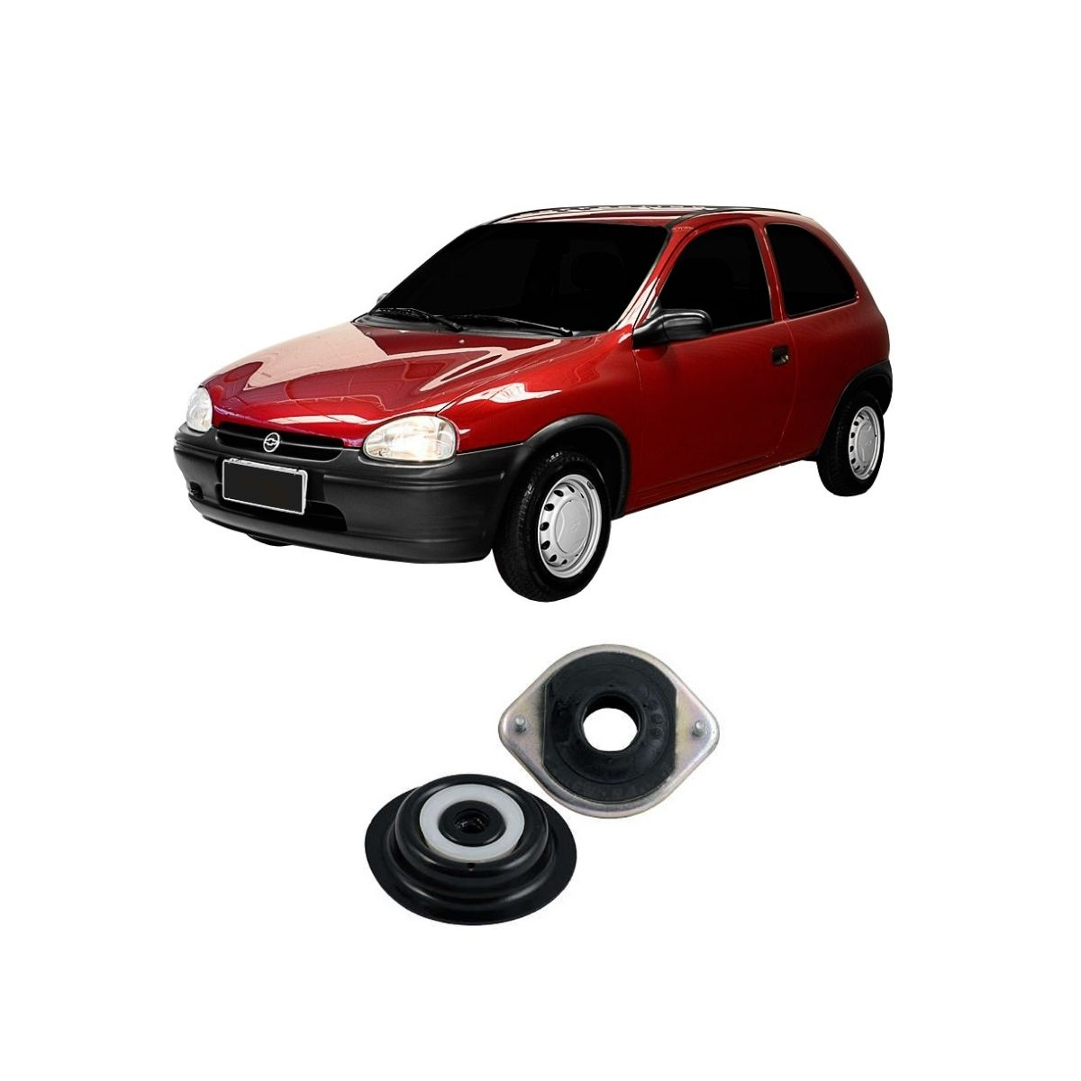 Coxim Do Amortecedor Dianteiro Chevrolet Corsa 1994/2003