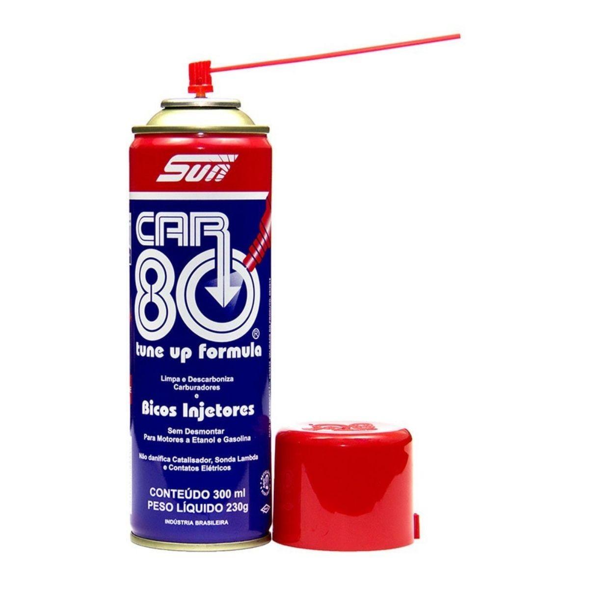 Descarbonizante Car80 Spray Limpa Bico e Carburadores