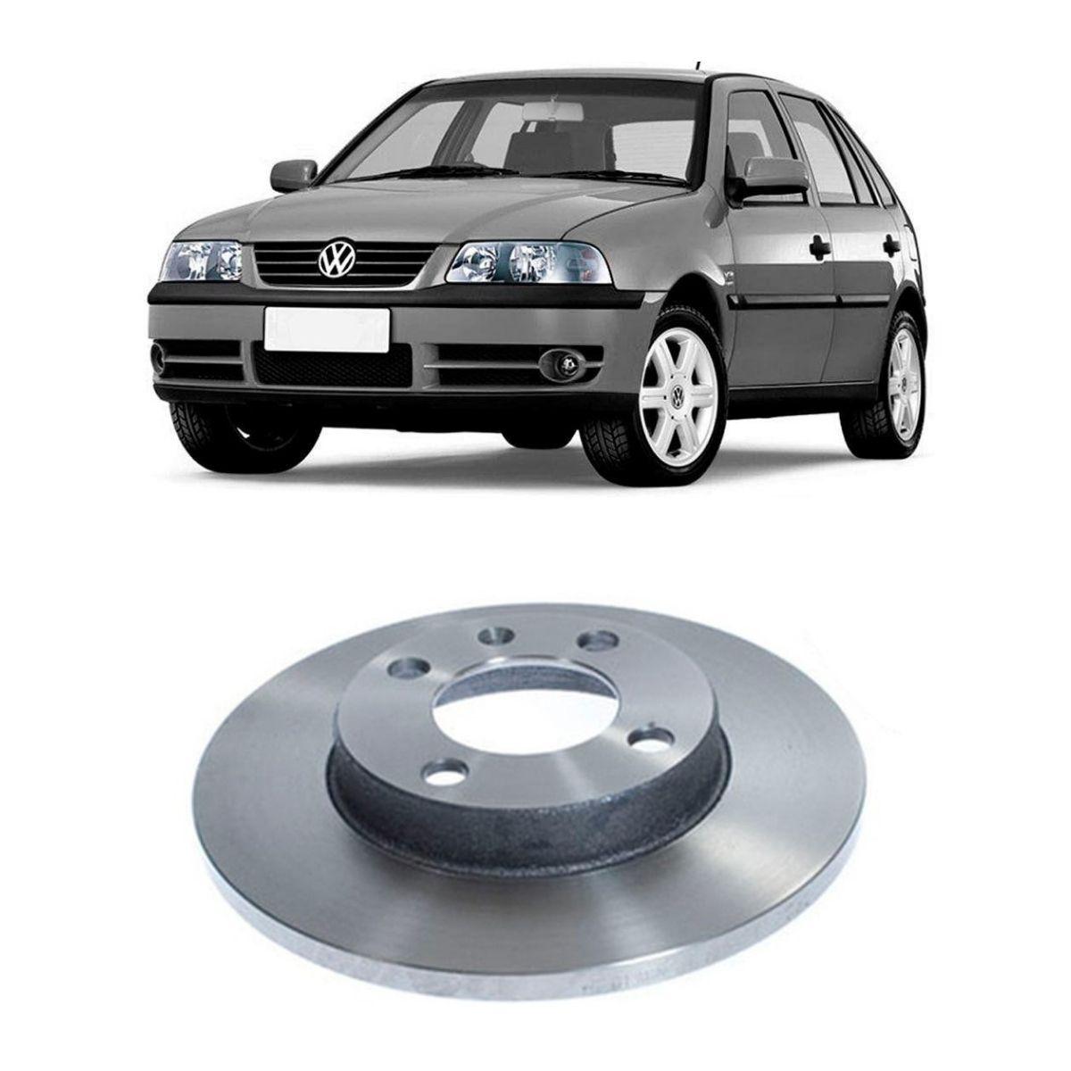 Disco de Freio Dianteiro Sólido Volkswagen Gol 1989/