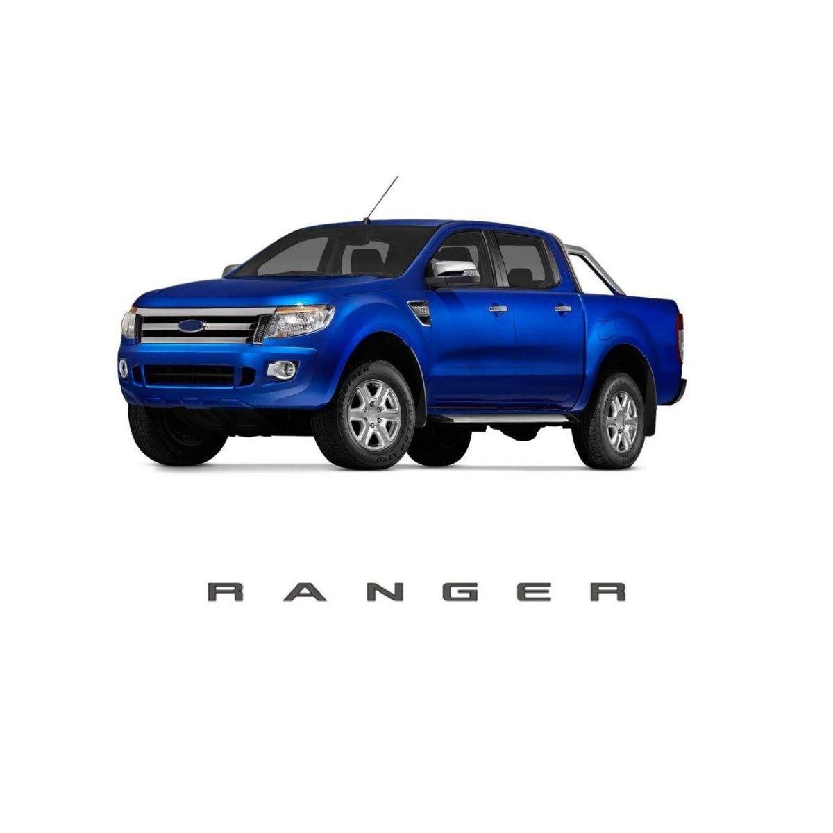 Emblema Traseiro Ford Ranger 2013 Diante