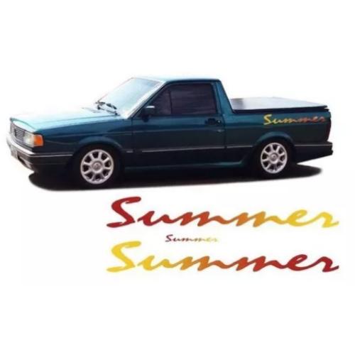 Faixa Lateral Saveiro Summer