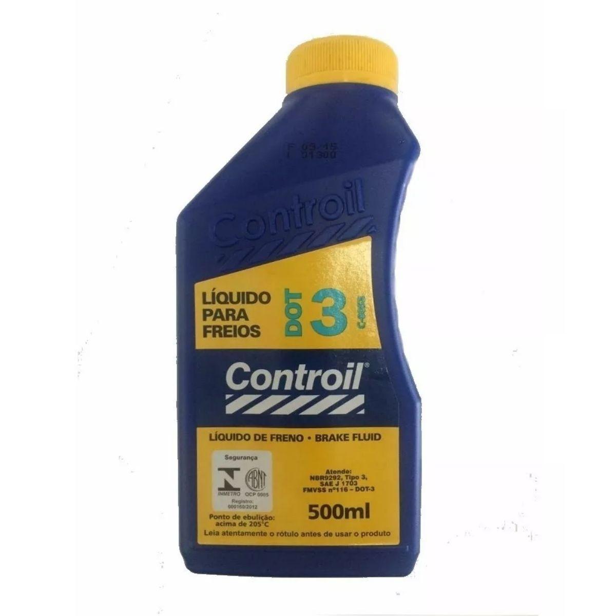 Fluido de Freio (Líquido de Freio) DOT3 Controil 500ml