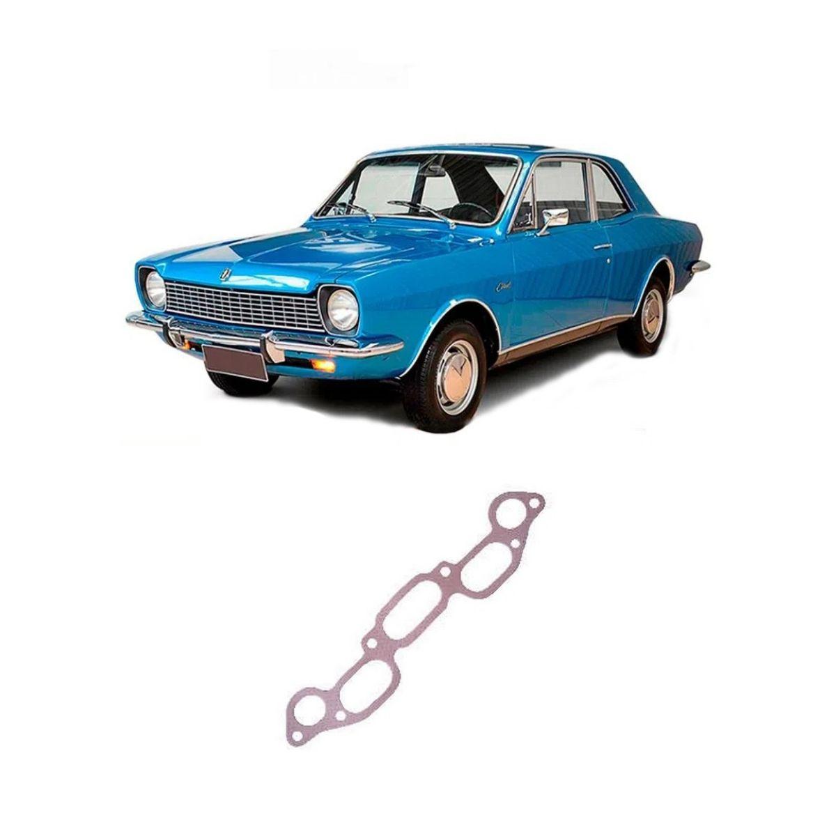 Junta Do Coletor De Admissão Ford Corcel 1979/1983