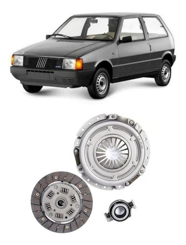 Kit Embreagem Fiat Uno 1.0 8v 1991/1996 1.3 8v 1984/1991