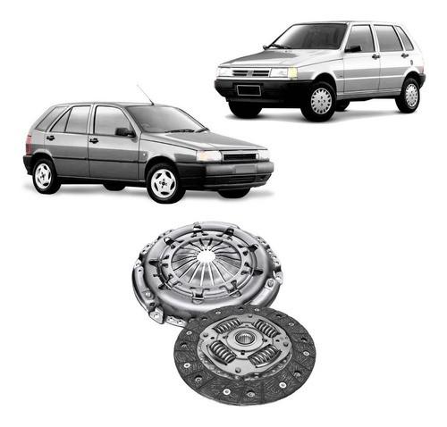 Kit Embreagem Fiat Uno Tipo 1.6 1996 Em Diante (Recondicionado)