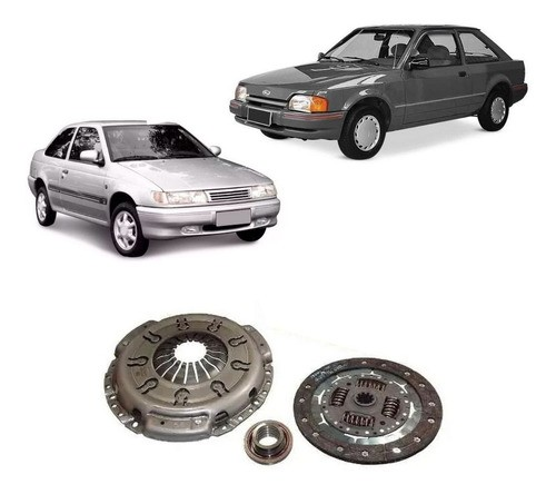 Kit Embreagem Ford Escort Volkswagen Logus 1.6 Cht 1993/