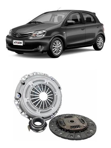 Kit Embreagem Toyota Etios 1.3 1.5 16v 2012 Em Diante