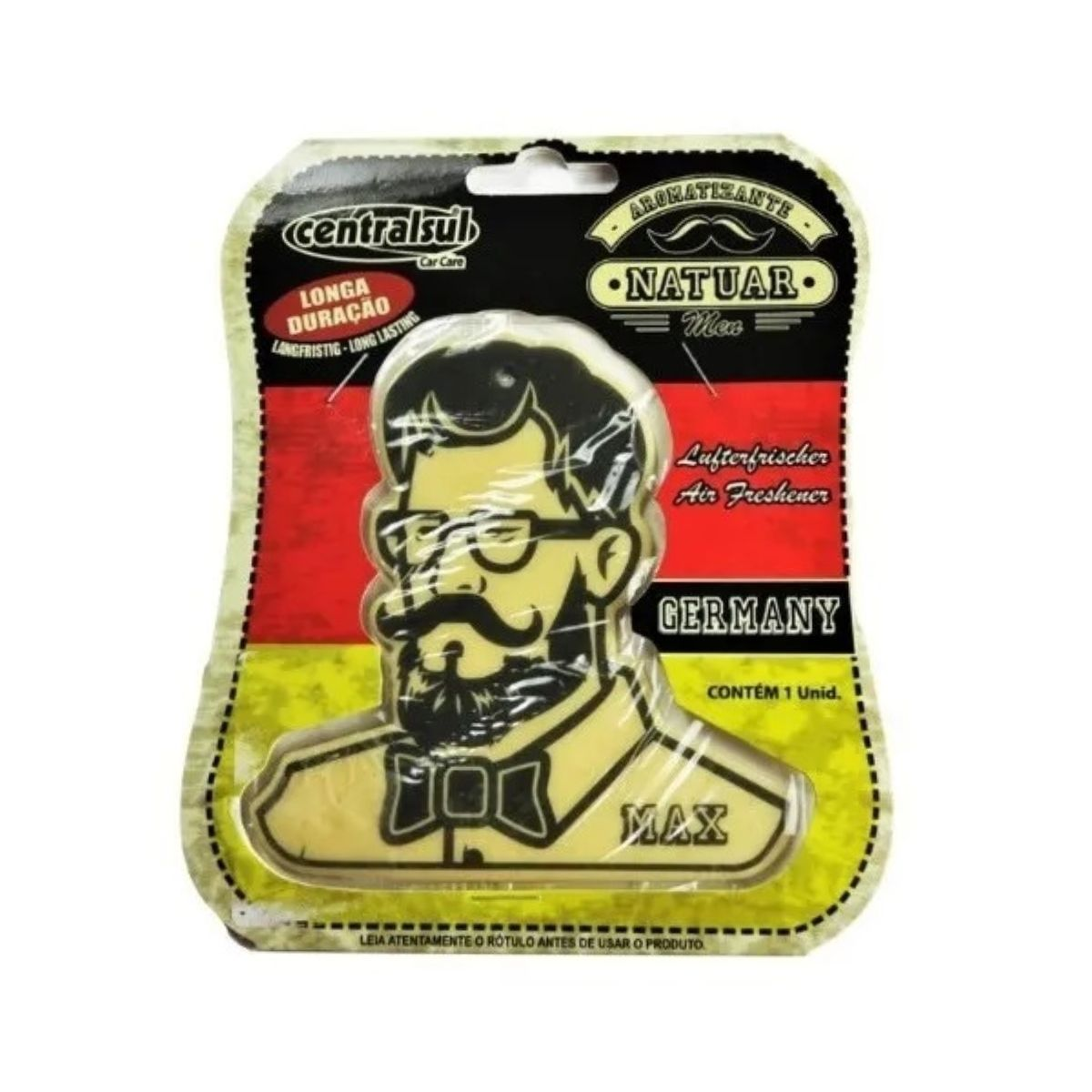 Kit Silicone + Aromatizantes Perfumados Men Germany