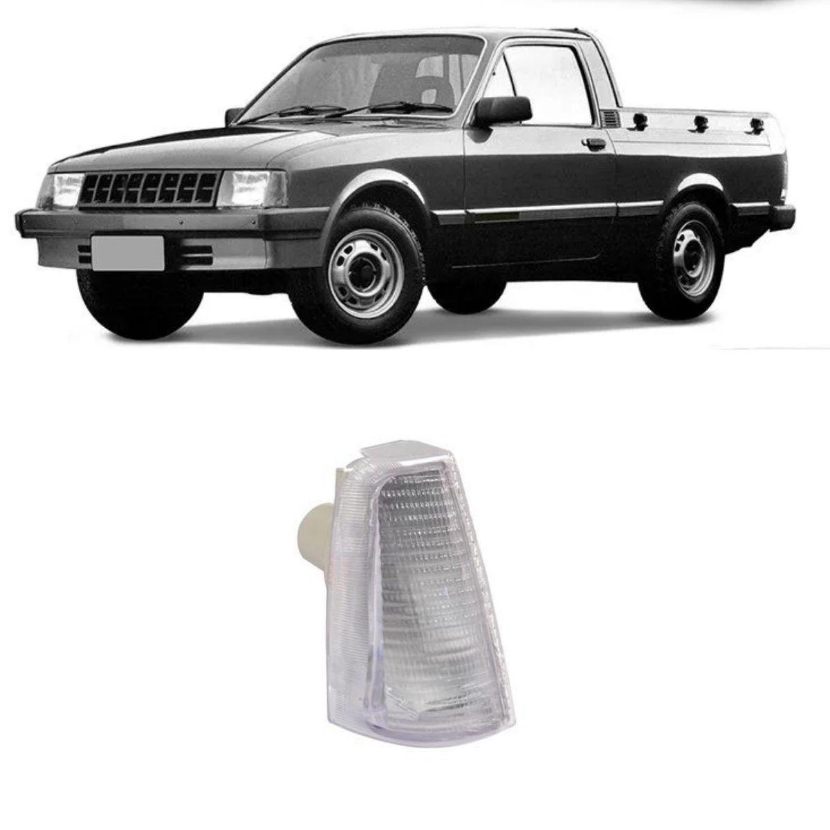 Lanterna Dianteira Direita Chevette 1983/1993 Cristal Cibie