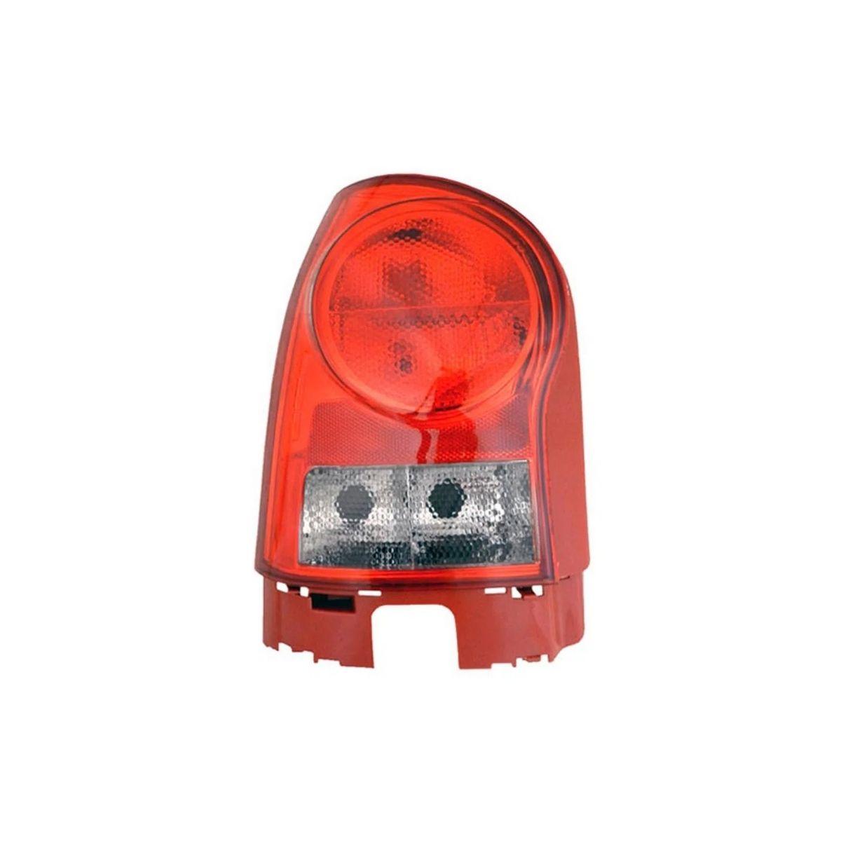 Lanterna Traseira Esquerda Gol G4 2006/ Carcaça Vermelha