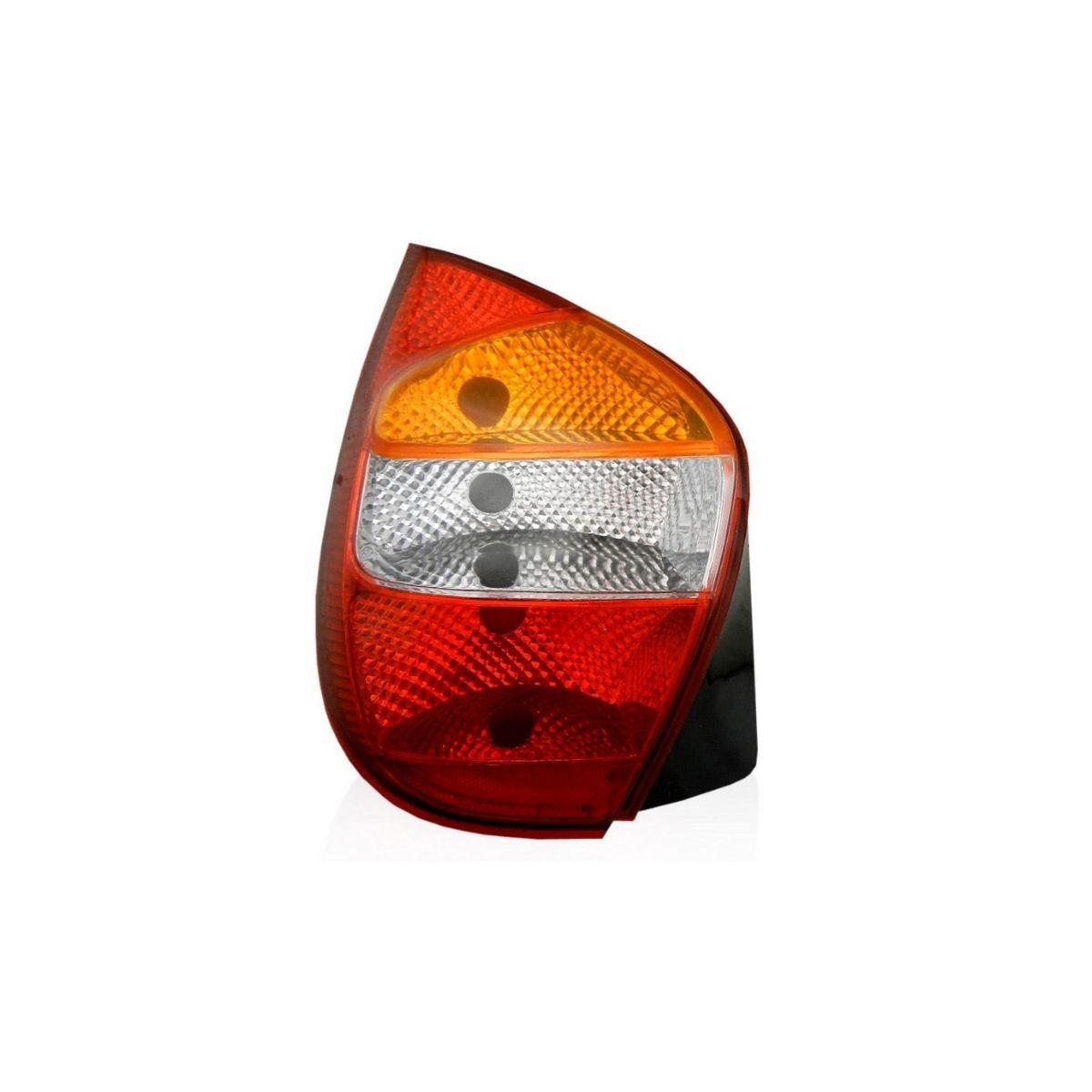 Lanterna Traseira Esquerda Palio 2001/2008 Tricolor