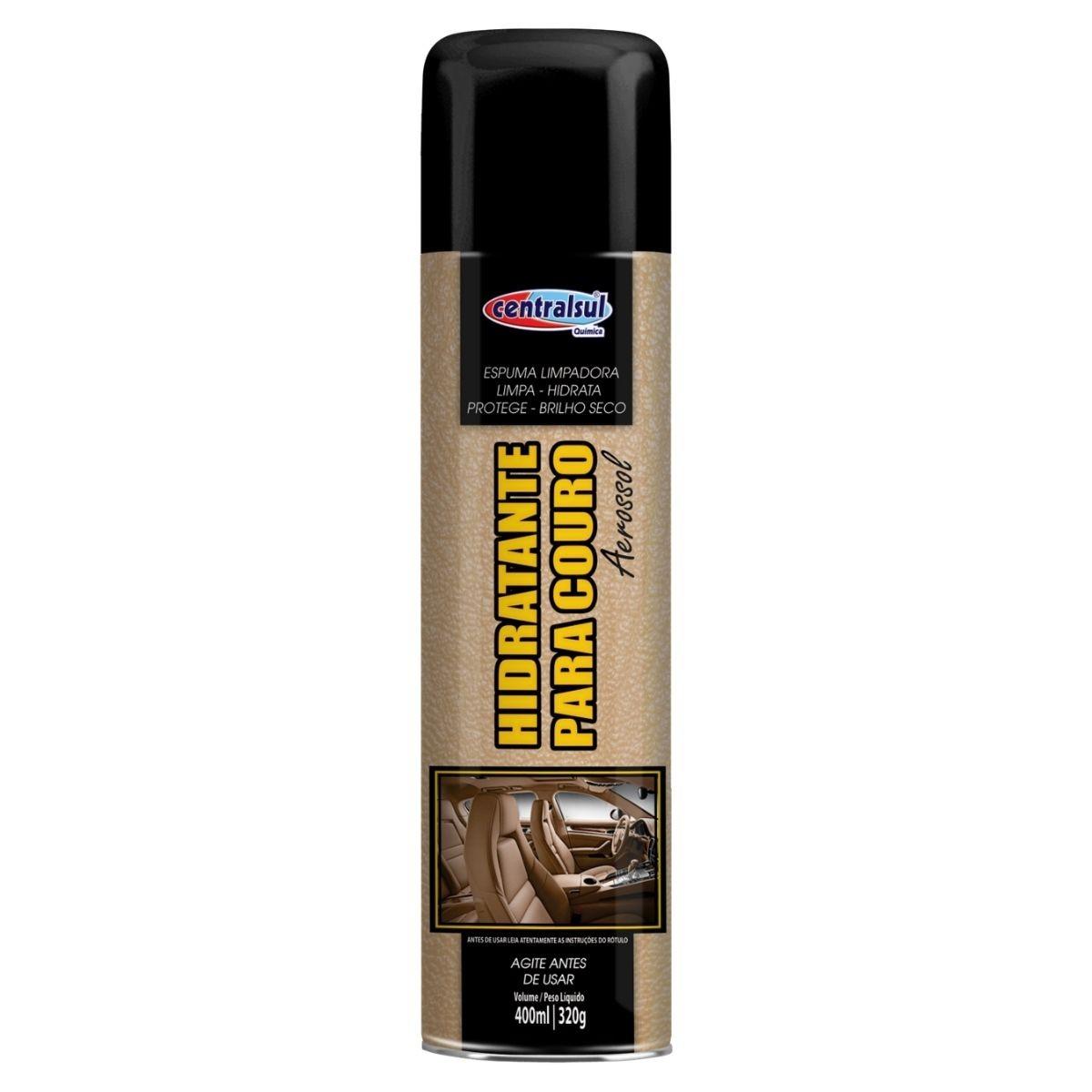 Limpa Couro Hidratante Aerossol 400ml