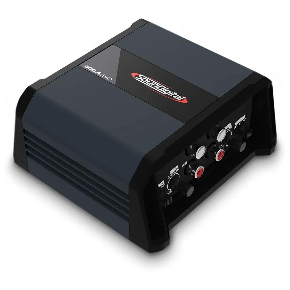 Modulo Soundigital Sd400.4 Sd400 400w Rms 4 Canais 4 Ohms
