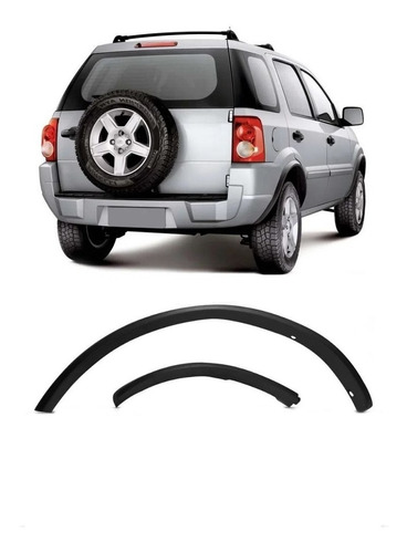 Moldura De Para-lama Traseiro Direito Ford Ecosport 2004/