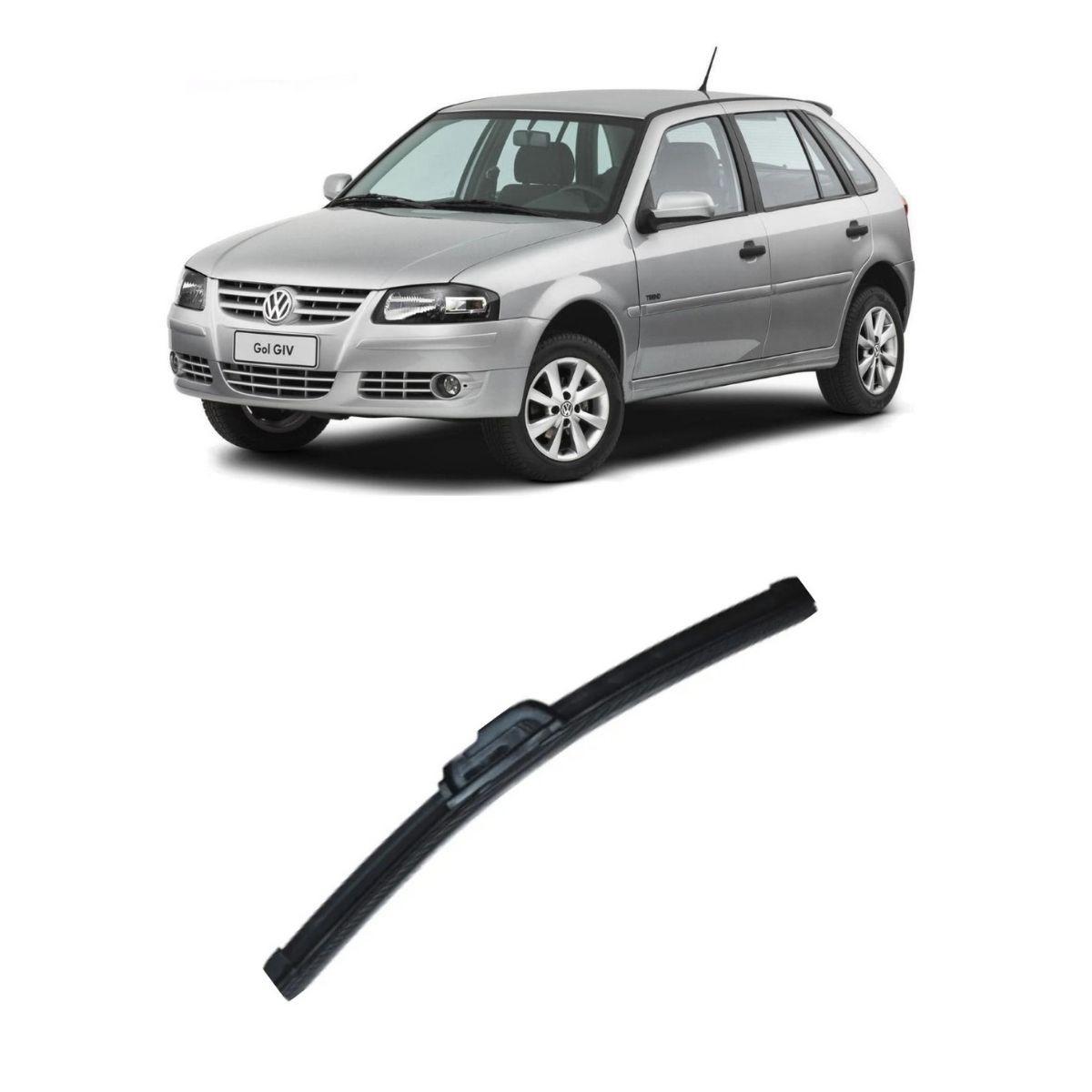 Palheta Dianteira Slim Clean 19'' Refil Volkswagen Gol G4