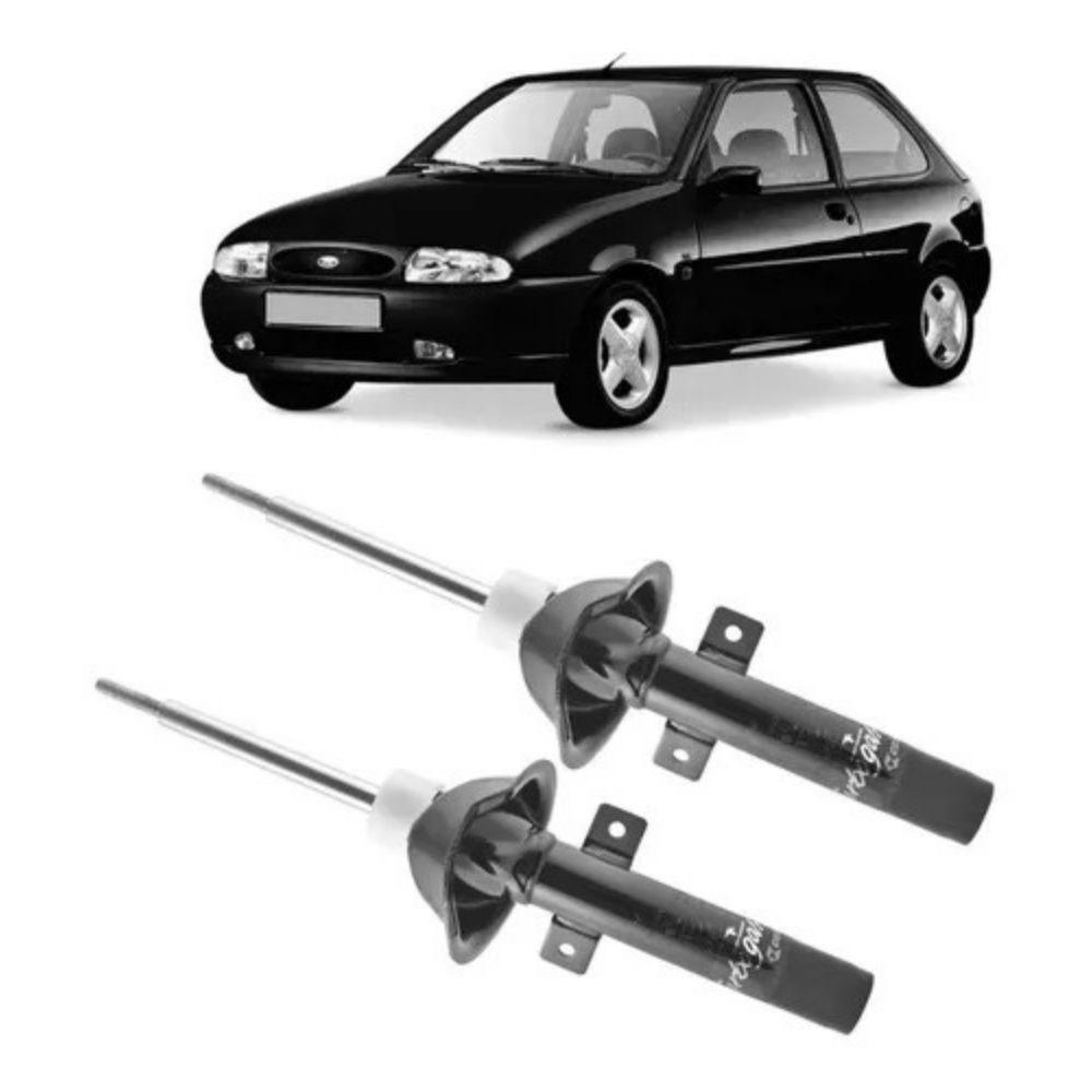 Par Amortecedor Dianteiro Ford Fiesta 1996 Até 2001