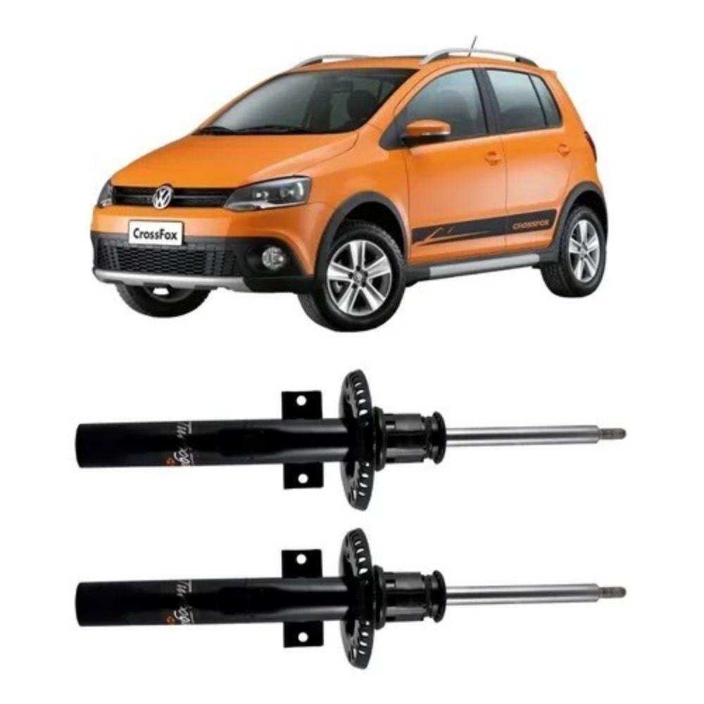 Par Amortecedor Dianteiro Volkswagen Crossfox 2004 Até 2012