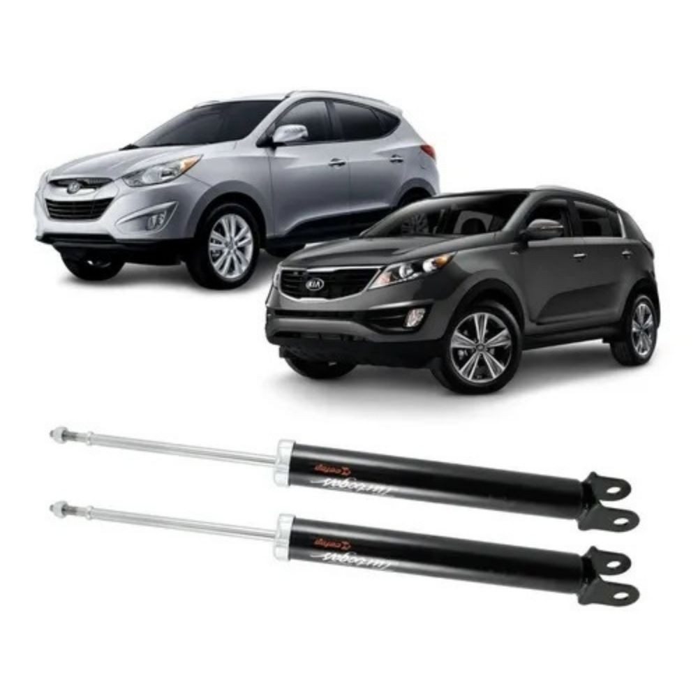 Par Amortecedor Traseiro Hyundai Ix35 Kia Sportage 2011/2015