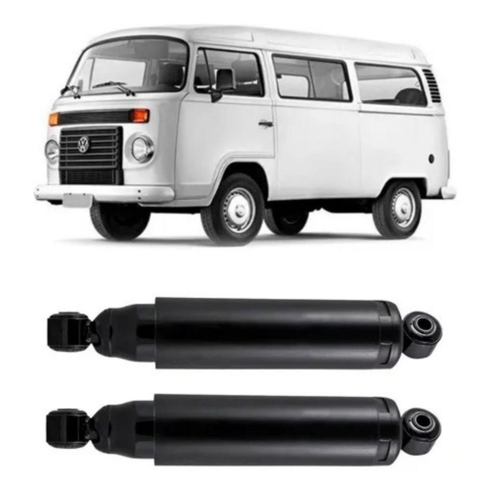 Par Amortecedor Traseiro Volkswagen Kombi 1978 Até 1996