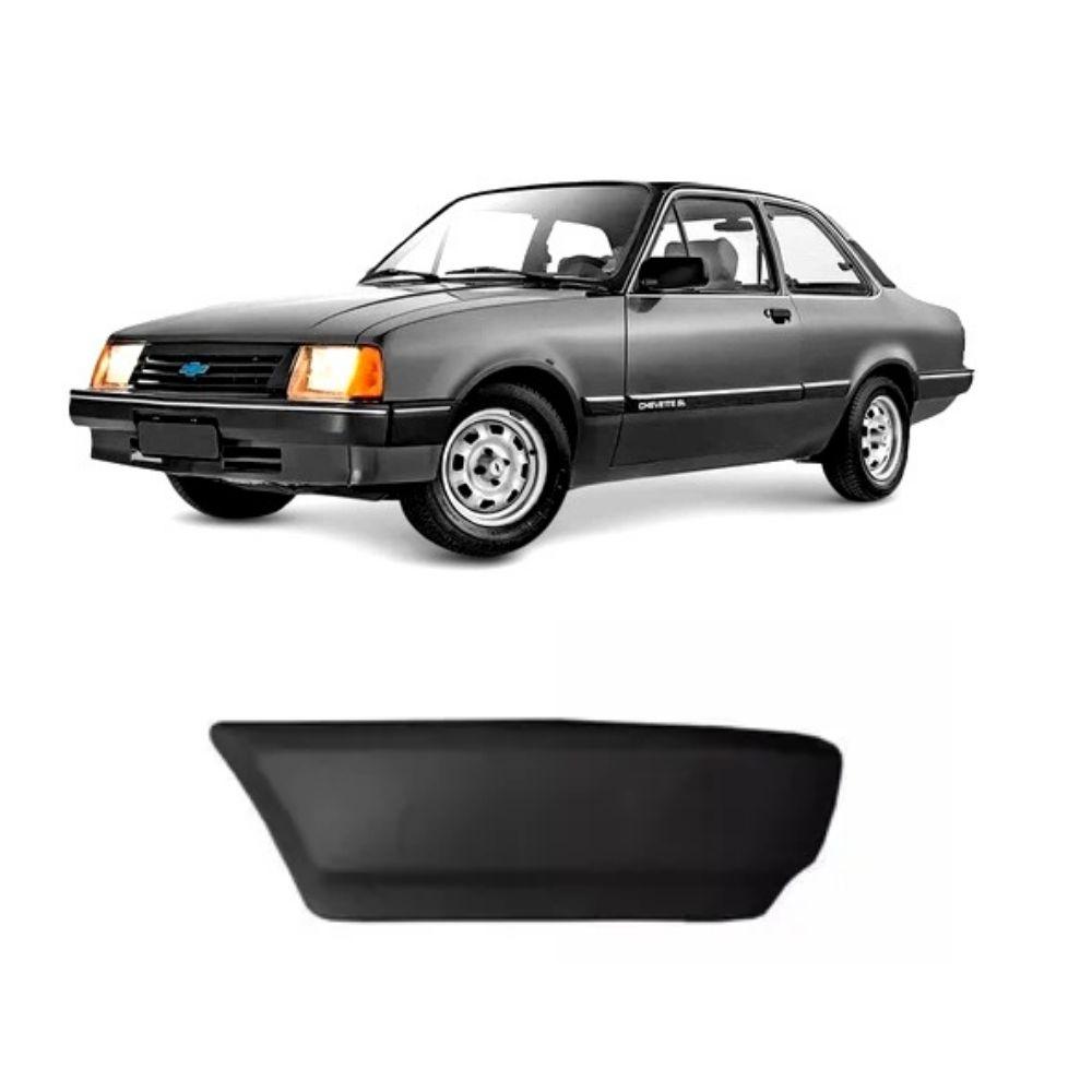 Ponteira Para-choque Dianteira Chevette 83/86 Lado Direito