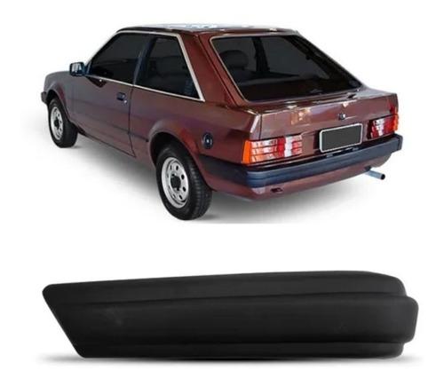 Ponteira Para-choque Traseiro Escort 1984/1986 Lado Esquerdo