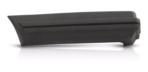 Ponteira Para-choque Traseiro Parati 83/86 Lado Esquerdo Cinza