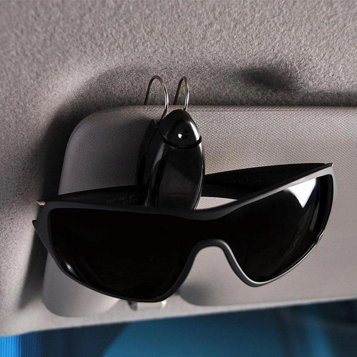 Porta Óculos Para Quebra Sol Automotivo