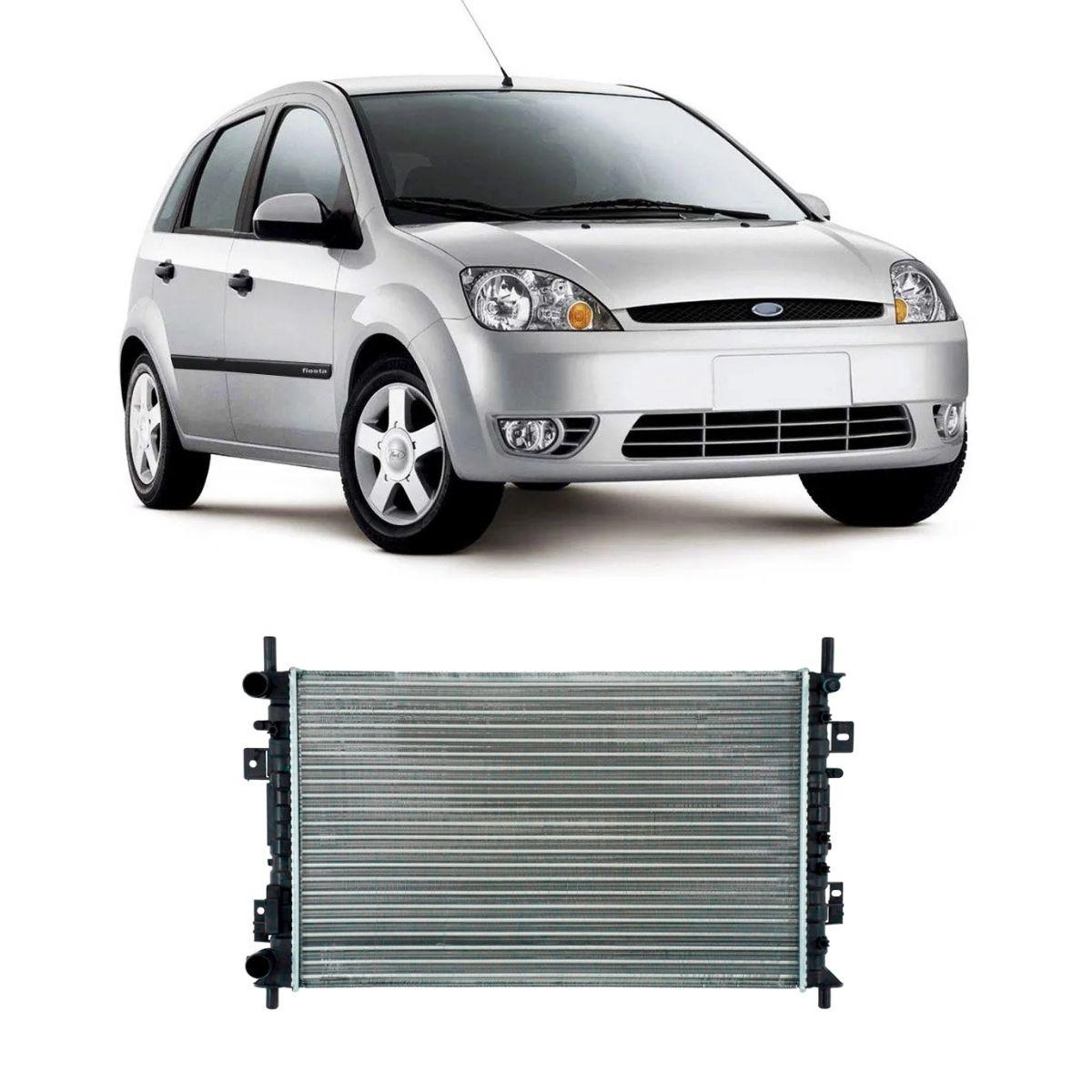 Radiador Fiesta 2003/2006 Ecosport 2003/2009 1.0 1.6