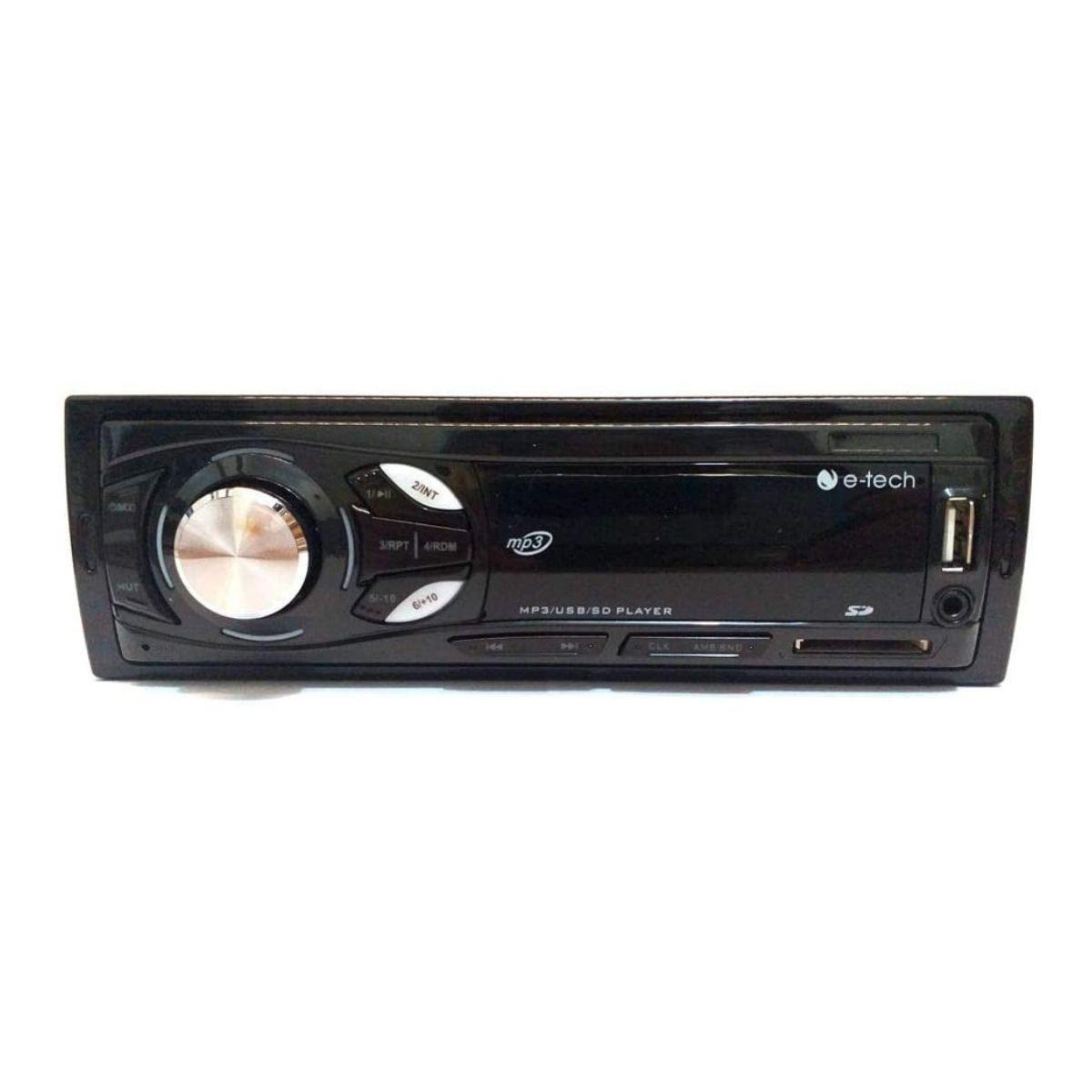 Radio Automotivo Universal Mp3 FM USB SD