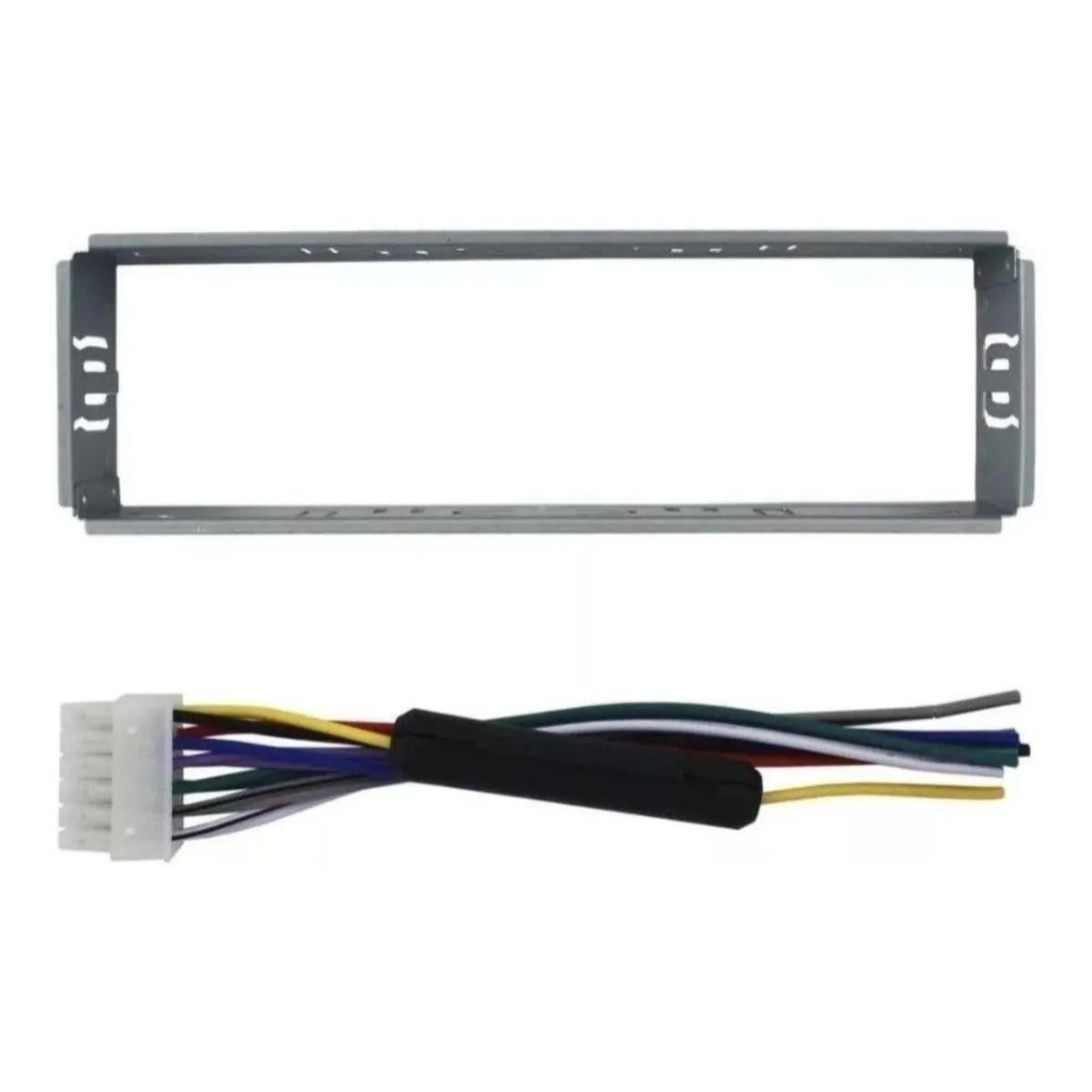 Rádio Automotivo MP3 Player FM USB SD C/ Bluetooth E-tech Light