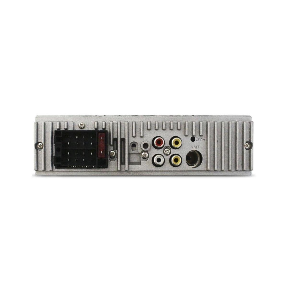 Radio Mp5 1 Din 4 Polegada Espelha Usb Fm Controle E-tech