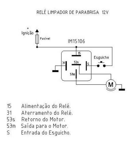 Relé Temporizador Limpador Do Para-brisa Gol Saveiro Santana