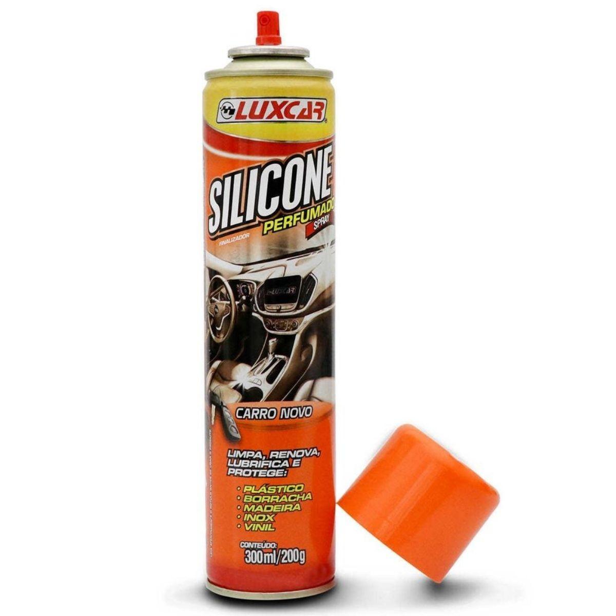 Silicone Perfumado Spray Carro Novo 300ml